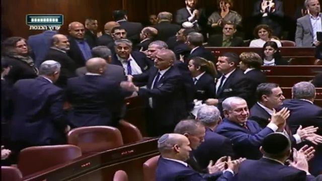 Députés arabes Knesset