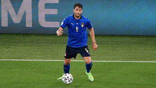 Manuel Locatelli, joueur de l'Italie, le 16 juin 2021. (FABRIZIO CORRADETTI / LIVEMEDIA)