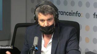 Hervé Mathoux, journaliste à Canal + (CAPTURE D'ECRAN FRANCEINFO)