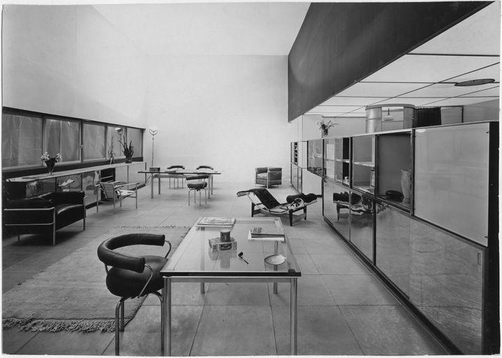 """Le Corbusier, Pierre Jeanneret, Charlotte Perriand, """"Un équipement intérieurd'une habitation"""", Salon d'automne, 1929 (© F.L.C. / Adagp, Paris, 2019 © Adagp, Paris 2019 © Jean Collas / AChP)"""