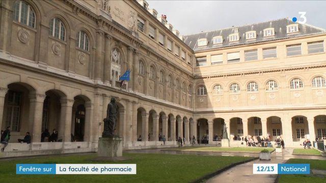 La faculté de pharmacie, la mémoire des recherches des célèbres apothicaires