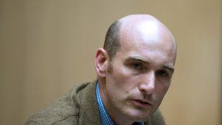 Le journaliste Nicolas Henin, ex-otage en Syrie, le 6 septembre 2014 à Paris. (ALAIN JOCARD / AFP)