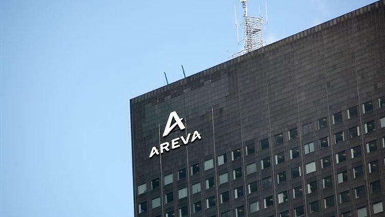 Les bureaux d'Areva à La Défense (Hauts-de-Seine, 2009) (AFP / Loïc Venance)