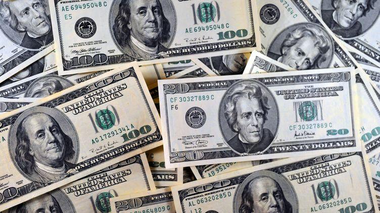 Billets de 20 et 100 dollars (KAREN BLEIER / AFP)