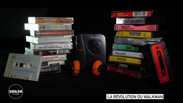 VIDEO. Le jour où Georges Brassens se fait offrir le tout premier walkman par le chanteur Yves Simon qui revient du Japon