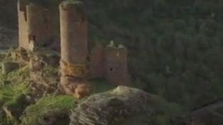 Le château du Tournel (Lozère) va béneficier d'une aide de rénovation. (CAPTURE D'ÉCRAN FRANCE 3)