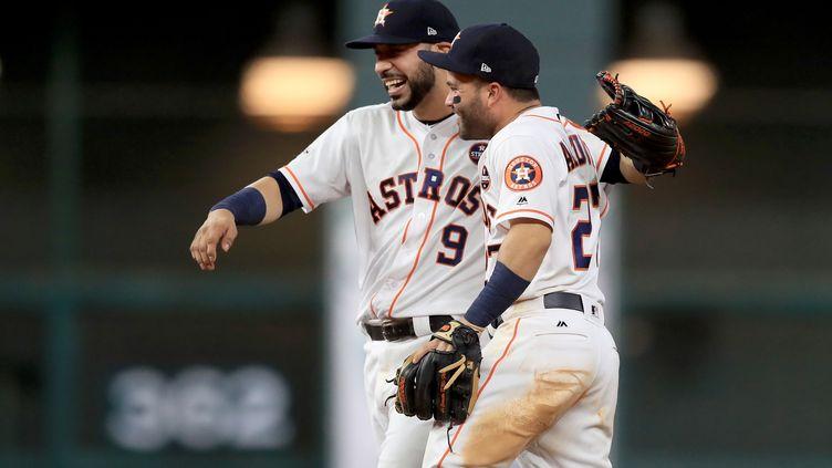 Les Astros de Houston sont en World Series (RONALD MARTINEZ / GETTY IMAGES NORTH AMERICA)