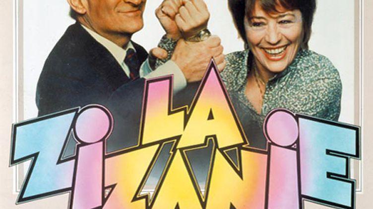 """L'affiche du film de Claude Zidi, """"La Zizanie"""", avec Louis de Funès en maire prêt à tout pour être réélu et sa femme -et premier opposant- Annie Girardot. (Allo Ciné)"""