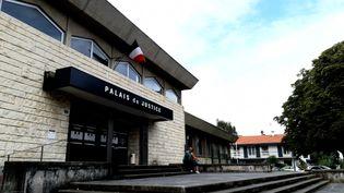 Le calme avant la tempête auPalais de justice de Bayonne ? (BENJAMIN  ILLY / FRANCE-INFO)