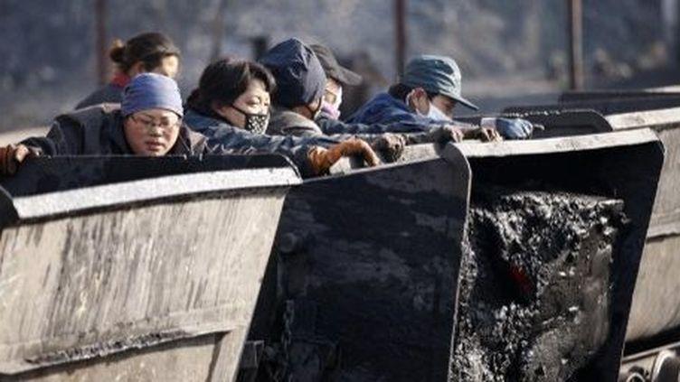 1000 morts dans les mines de charbon chinoises, en 2013. (AFP)