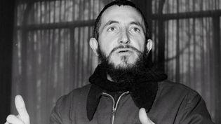 L'abbé Pierre en janvier 1954  (PHOTOPQR/LE PARISIEN)