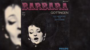 """Le 45 tours """"Göttingen"""" de Barbara. (DR)"""