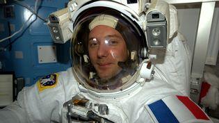 Thomas Pesquet dans l'ISS, le 30 décembre 2016 (PESQUET / ESA / NASA / SIPA)