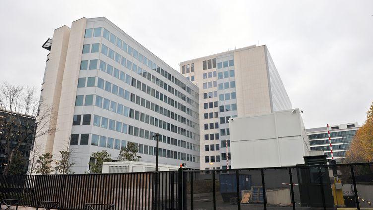 Le siège de la DGSI (ex-DCRI), le 15 novembre 2008, à Levallois-Perret (Hauts-de-Seine). (MIGUEL MEDINA / AFP)