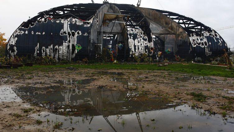 Le cirque de la Compagnie des Contraires qui organisait des activités pour les enfants aété incendié à Chanteloup-les-Vignes en novembre dernier. (OLIVIER CORSAN / MAXPPP)