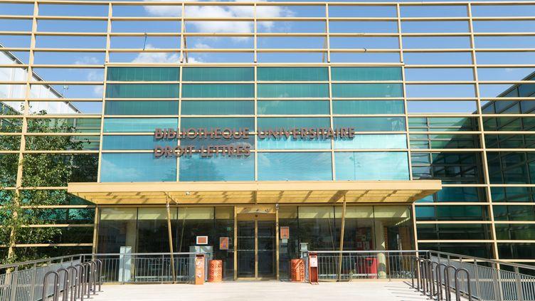 Le campus de l'Université de Bourgogne, à Dijon(Côte-d'Or), le 27 avril 2020. (MAXPPP)