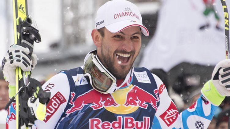 Le skieur français Guillermo Fayed