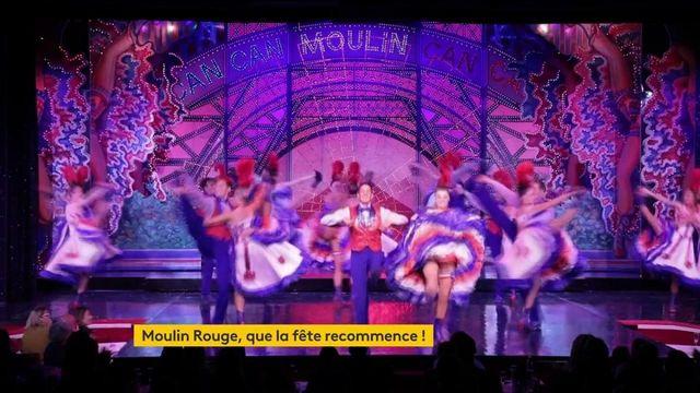 Paris : le retour des festivités au Moulin Rouge