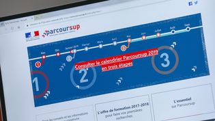 Site de Parcoursup (illustration). (THIERRY THOREL / MAXPPP)