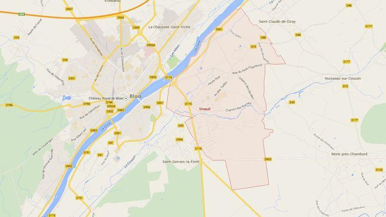 Leur magasin n'a plus de directeur depuis le 6 janvier, alors les salariés d'un Leader Price de Vineuil (Loir-et-Cher)se sont mis en grève, jeudi 29 janvier 2015. ( GOOGLE MAPS / FRANCETV INFO )
