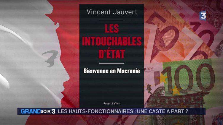 La couverture du livre de Vincent Jauvert (France 3)