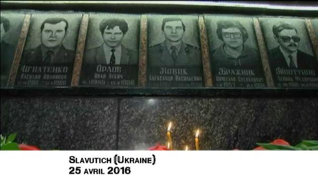 L'Ukraine célèbre le 30e anniversaire de Tchernobyl