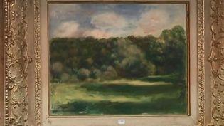 Un tableau de Renoir vendu aux enchères (France 2)