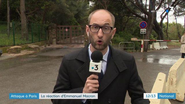 Attaque à Paris : la réaction d'Emmanuel Macron