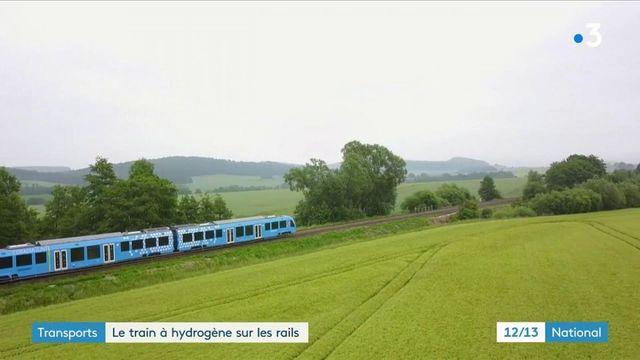 Transports : le train à hydrogène d'Alstom présenté pour la première fois en France