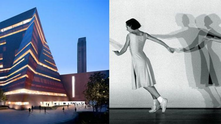 """Le projet de tour à la Tate Modern, et la chorégraphie """"Fase"""" de Anne Teresa de Keersmaeker.  (Hayes Davidson and Herzog & de Meuron - Anne Teresa de  Keersmaeker)"""