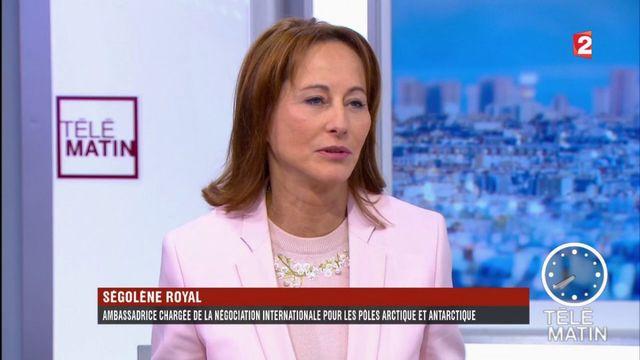 """Les 4 Vérités - Ségolène Royal sur le climat : """"Il faut être conscient de l'urgence"""""""