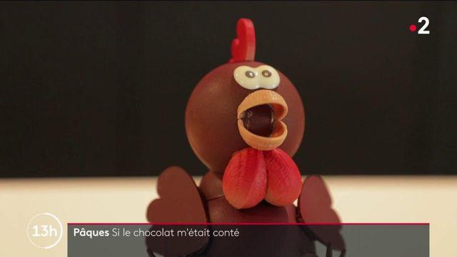 Pâques : rencontre avec le maître chocolatier Vincent Guerlais