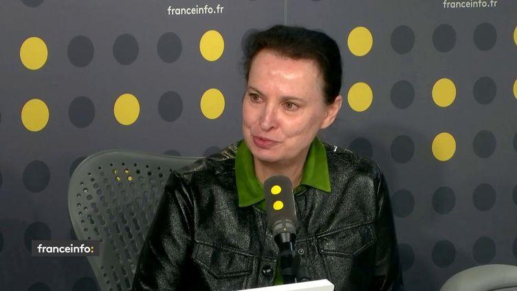 Anne Lavaud, sur franceinfo mardi 14 mai 2019. (FRANCEINFO)