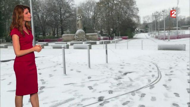 Hauts-de-France : de fortes chutes de neige