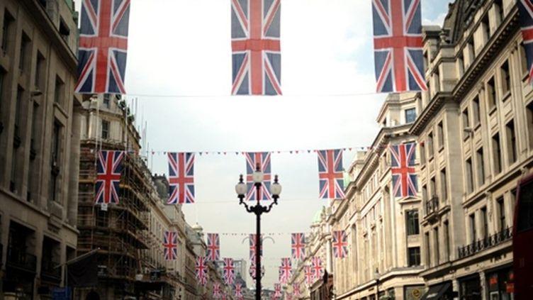 Régent street (Londres) le 20 avril 2011 (AFP. B.Stansall)