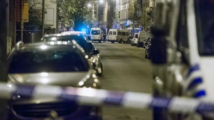 (Lors des perquisitions menées hier et ce matin, ni arme ni explosif n'ont été découverts © MaxPPP)