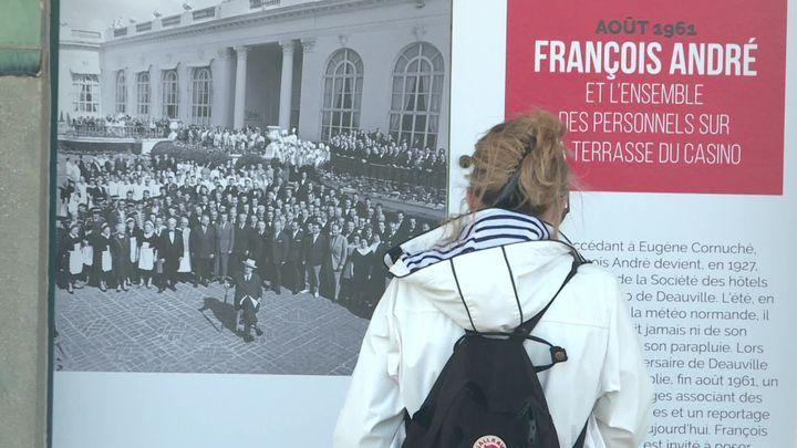 """Exposition """"Deauville dans l'oeil de Paris Match"""" (France 3 Normandie)"""