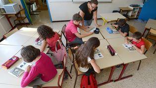 Dès octobre 2017, le ministre de l'Éducation nationale, Jean-Michel Blanquer, adécidé de rouvrir le chantier de l'accompagnement en milieu scolaire. (Photo d'illustration) (GERARD JULIEN / AFP)