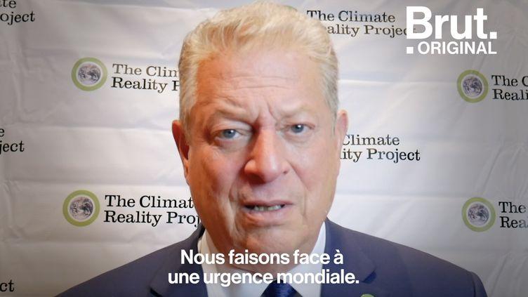 VIDEO. Al Gore s'adresse à la jeunesse et à Donald Trump (BRUT)