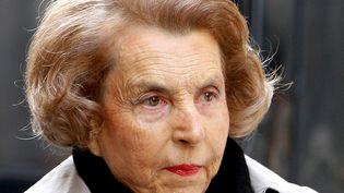 Liliane Bettencourt, à Paris, le 6 juillet 2007. (PATRICK KOVARIK / FILES / AFP)