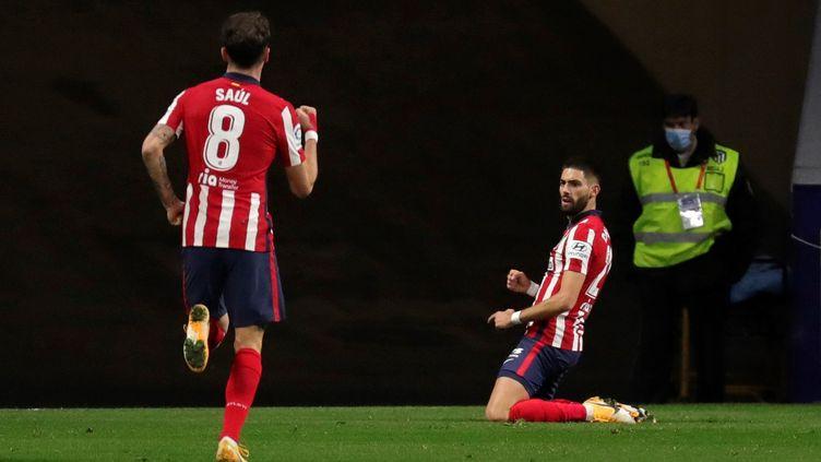 Carrasco a inscrit son deuxième but de la saison (JUANJO MART?N / EFE)