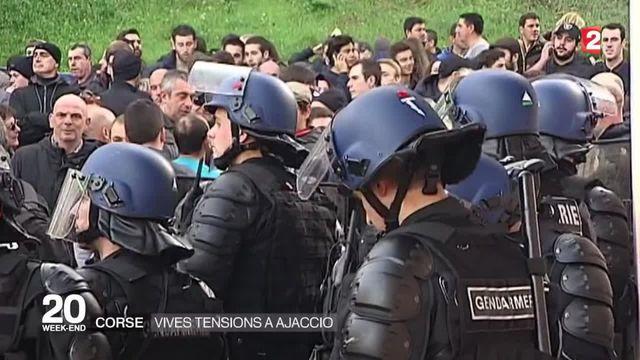 Incidents à Ajaccio : regain de tension ce samedi