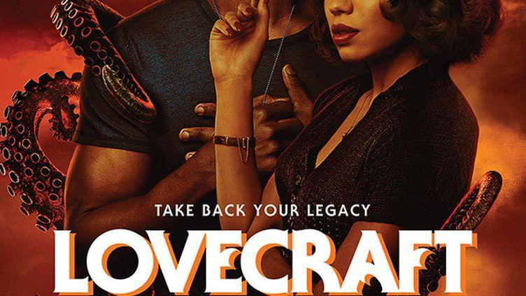 """L'affiche américaine de la série """"Lovecraft Country"""" qui sera diffusée en France sur OCS. (HBO)"""
