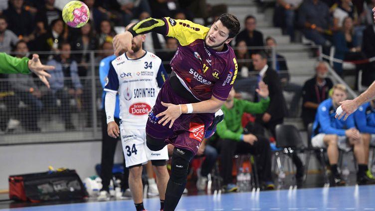 Le Nantais Nicolas Tournat a fini meilleur buteur de son équipe (six buts) (THOMAS BREGARDIS / MAXPPP)