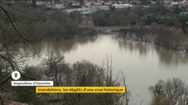 Inondations : les dégâts d'une crue historique en Charente et en Charente-Maritime