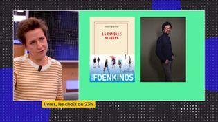 """Dans son dernier roman, """"La famille Martin"""" (Gallimard) David Foekinos se met en scène au milieu d'une famille dont il raconte l'histoire. (FRANCEINFO)"""