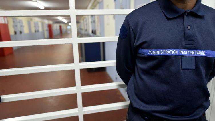 Surveillant pénitentiaire à la maison d'arrêt de La Talaudière (Loire). (R?MY PERRIN / MAXPPP)