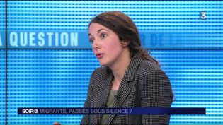 Élise Vincent, journaliste au Monde. (FRANCE 3)