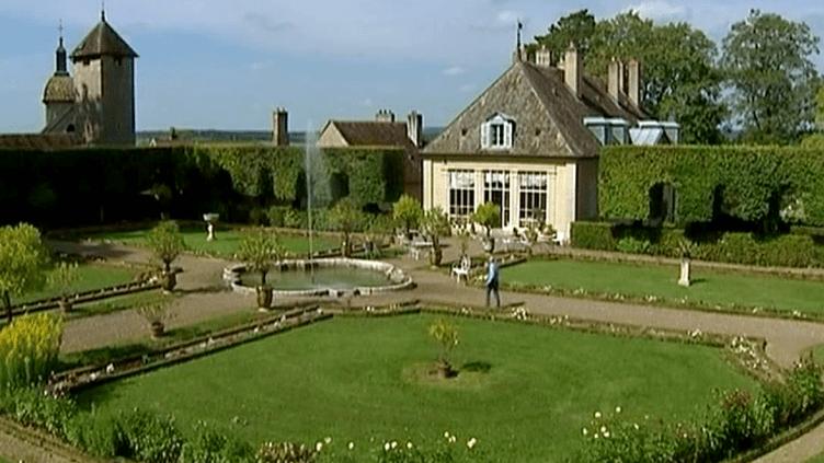 Le parc à la Française du château de Jallerange, un exemple du genre.  (France 3)