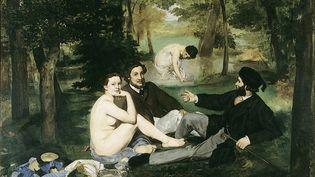 """""""Le Déjeuner sur l'herbe"""" d'Edouard Manet, au Musée d'Orsay. (AGLILEO COLLECTION / AGLILEO)"""